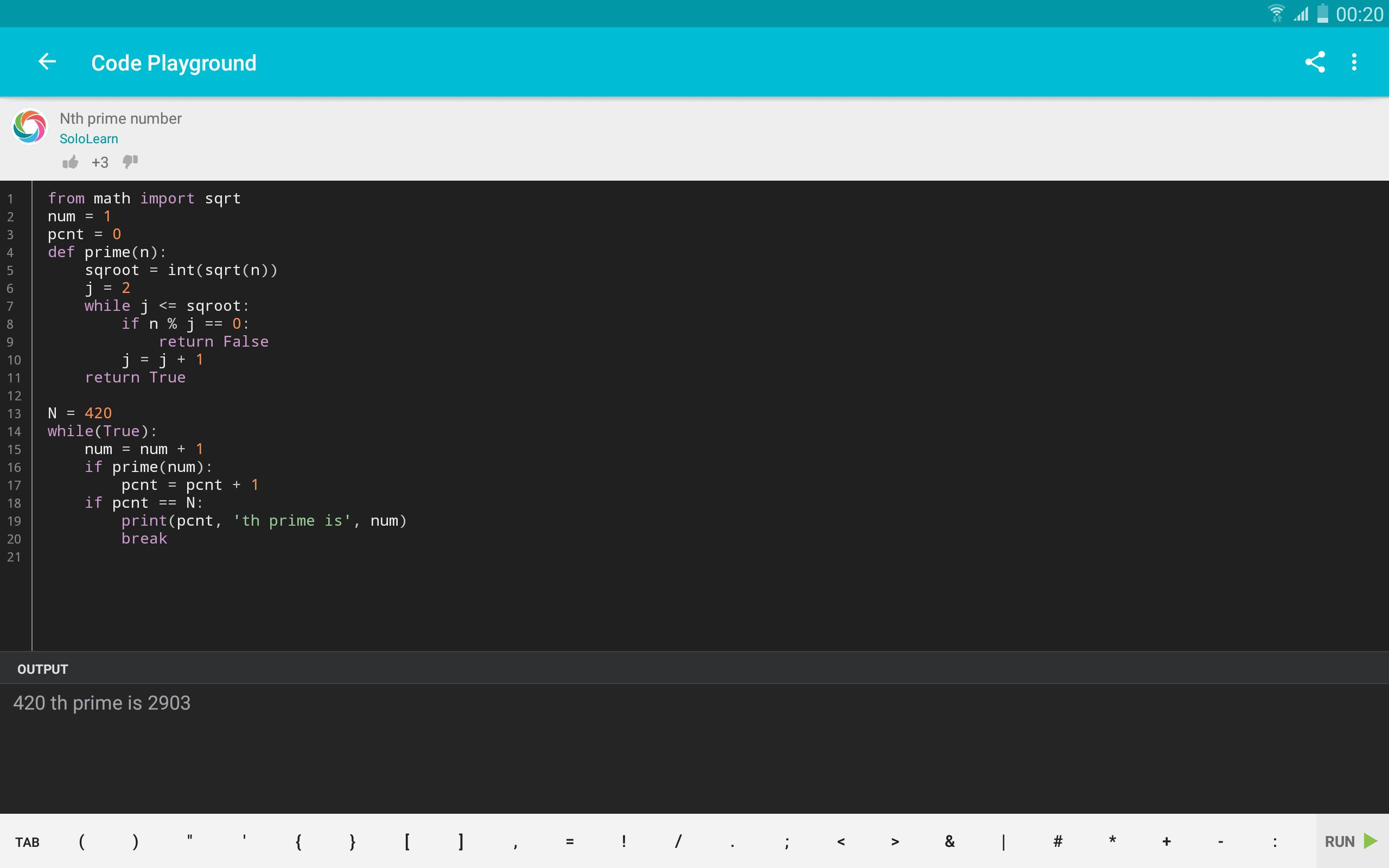 Learn Python Apk - Ngoding di Android