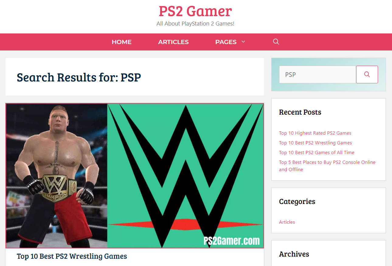 PS2GAMER situs game ppsspp